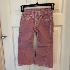 True Religion Girls Corduroy Jeans
